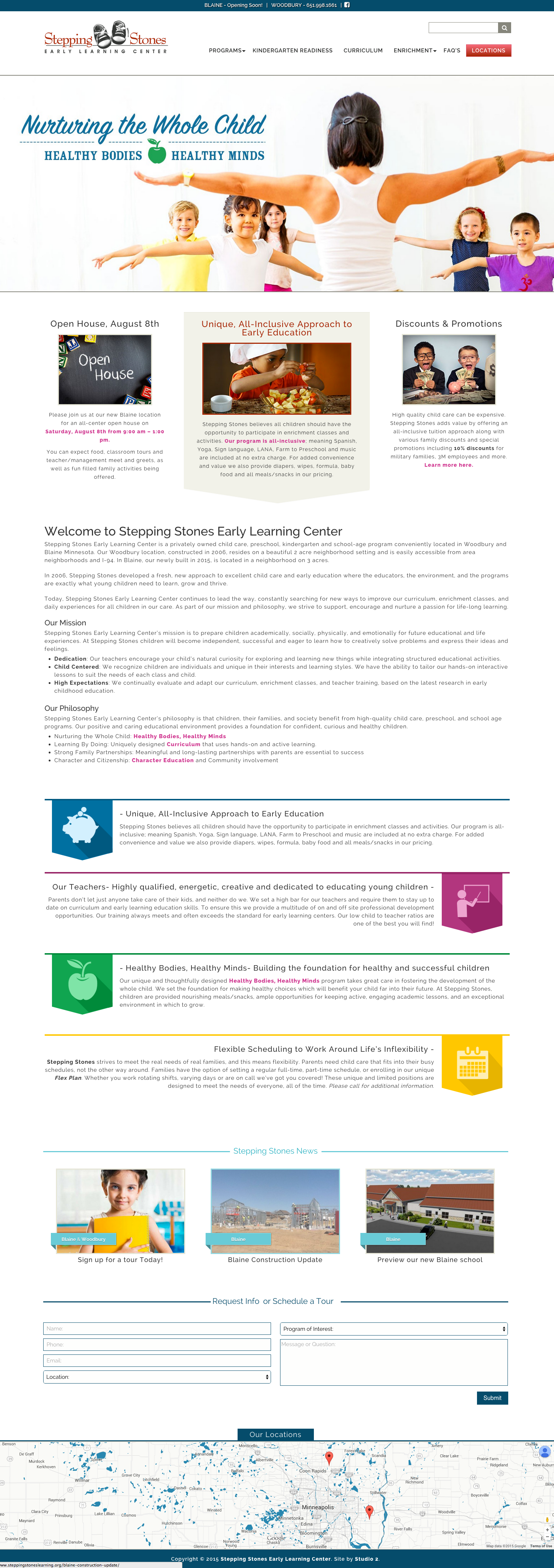 Stepping stones learning center minneapolis front end developer stepping stones learning center maxwellsz